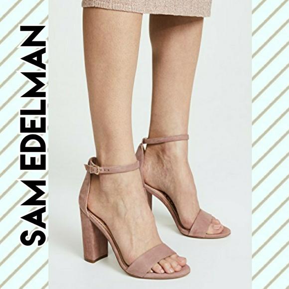 34d29d3fa 🆕️NIB Sam Edelman Yaro Dusty Rose Suede Sandals